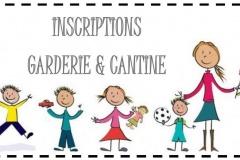 Rentrée scolaire 2018-2019 - Cantine - Garderie