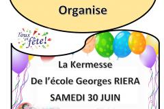 Kermesse de l'Ecole Georges Riéra
