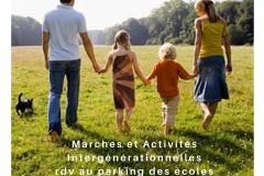Marches et activités intergénérationnelles
