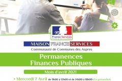 Maison France Services - Permanences Finances Publiques