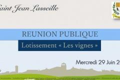 Réunion Publique du 29 Juin 2016
