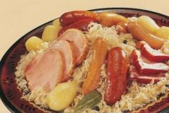 Repas : choucroute